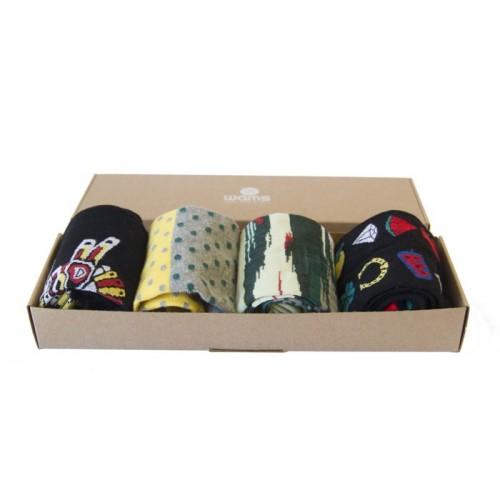 Casual Patterns Socks Gift Box