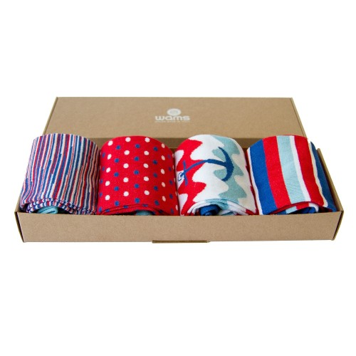 Red Socks Box