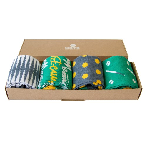 Black Friday Blue Socks Box