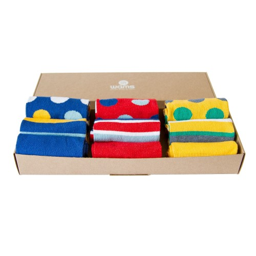 Three Pack Socks Box