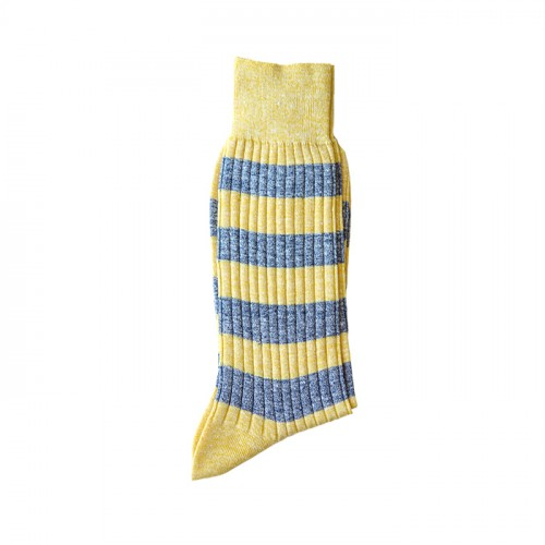 Yellow Stripes Linen