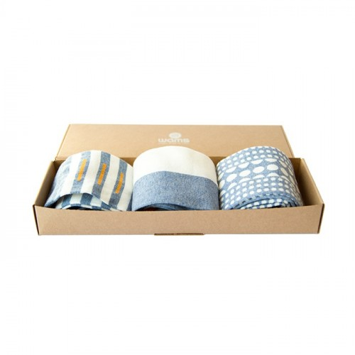 Denim Finest Cotton Gift Socks Box