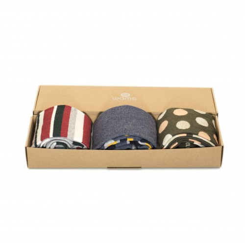Three Pack Fun Socks Box