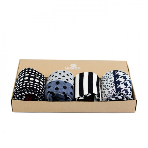 Black and Blue Gift Box