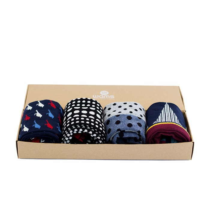 Denim Blue Gift Box