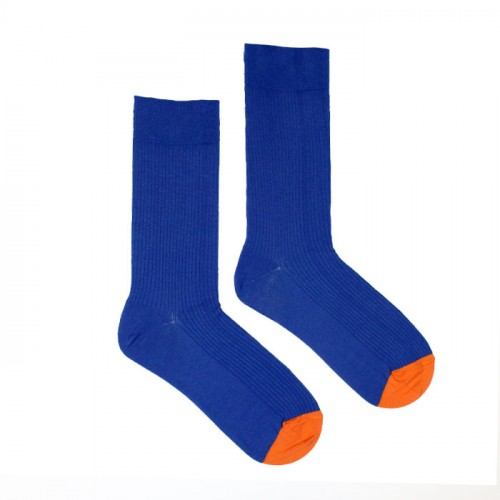 Rib Socks Ultra Blue 41-46