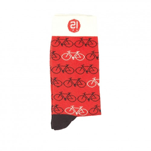 Red Bike Sock