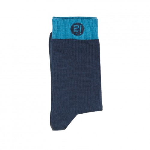 Blue Navy Sock