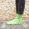 Green Dots Sock