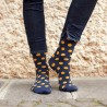 Blue Dots Sock