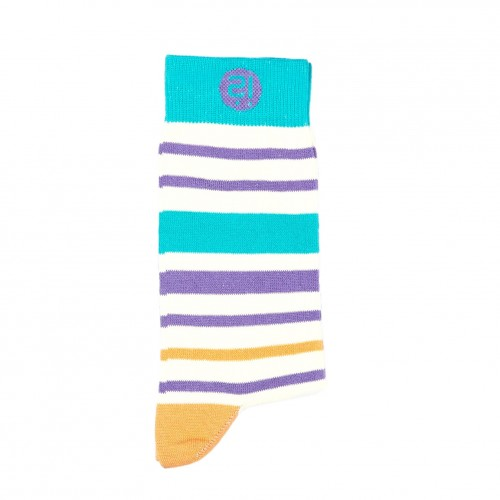 Pepita Stripes Sock